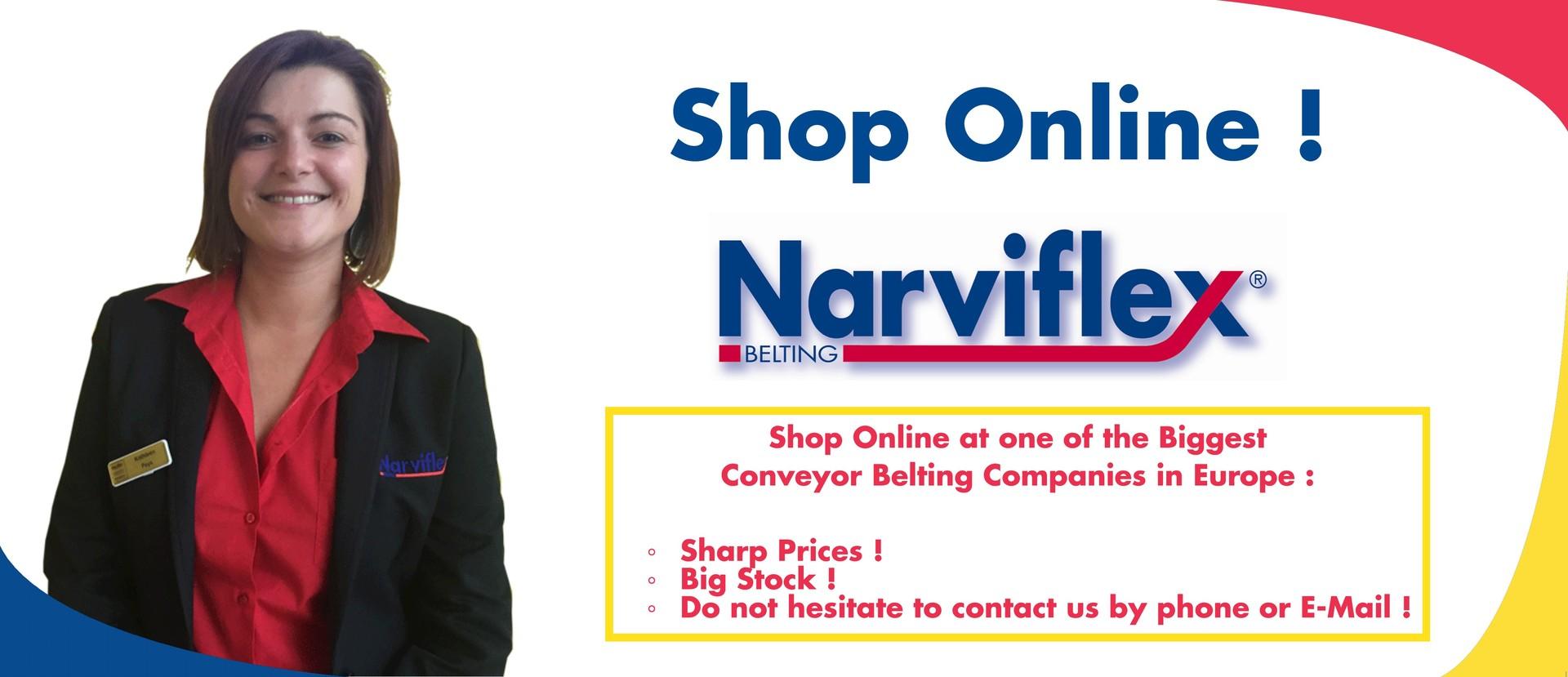 Lacing - Narviflex Conveyor Belting - Rubber & Plastics